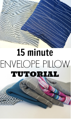 Think making pillow cases is difficult? It doesn't have to be! Just follow this simple envelope pillow case tutorial that walks you through each step!