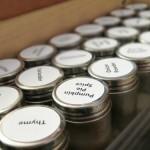Spice Container Organization