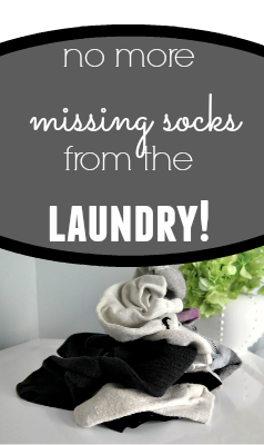 Laundry Room Missing Socks