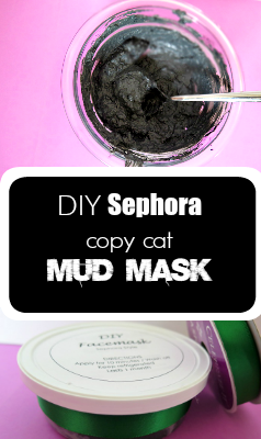 Don't pay big bucks for an ounce of beauty product, make your own HIGH quality copy cat mud mask with this easy to follow tutorial!